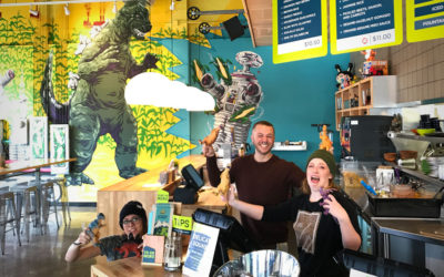 Rolling Burritos and Making Memories with Laughing Planet Café